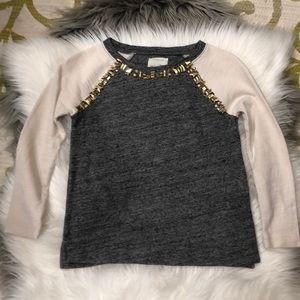 Girls crewcuts lightweight sweatshirt